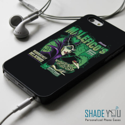 Malefico - Disney Villain Maleficent iPhone 4/4S, iPhone 5/5S, iPhone 5C Case, Samsung Galaxy S4/S5 Cases