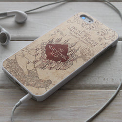 Harry Potter and The Marauder's Map - iPhone 4/4S, iPhone 5/5S/5C, iPhone 6 Case, Samsung Galaxy S4/S5 Cases