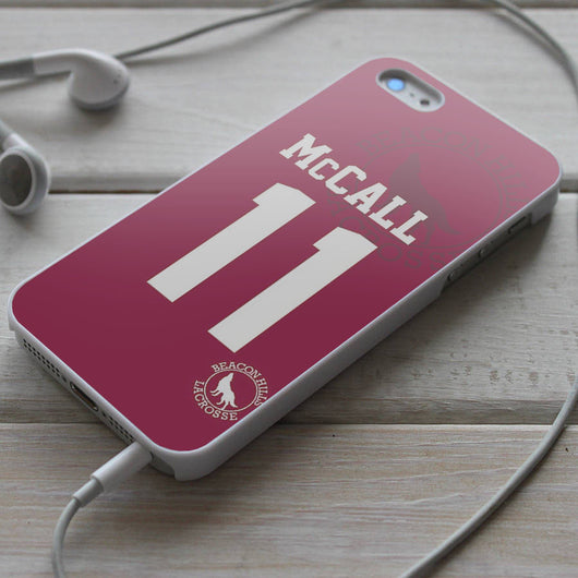 Teen Wolf McCall 11 LaCrosse - iPhone 4/4S, iPhone 5/5S/5C, iPhone 6 Case, Samsung Galaxy S4/S5 Case