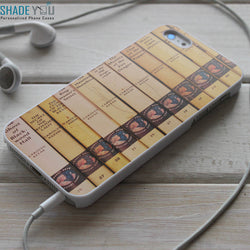 Nancy Drew Book Collection Library iPhone 4/4S, iPhone 5/5S/5C, iPhone 6 Case, Samsung Galaxy S4/S5 Cases