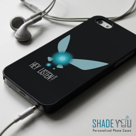 Hey Listen Navi Quotes iPhone 4/4S, iPhone 5/5S, iPhone 5C Case, Samsung Galaxy S4/S5 Cases