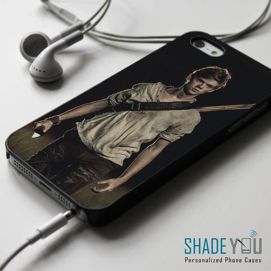 The Maze Runner Newt - iPhone 4/4S, iPhone 5/5S/5C, iPhone 6 Case, Samsung Galaxy S4/S5 Cases