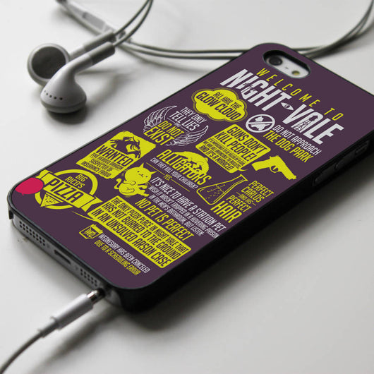 Welcome to Night Vale - iPhone 4/4S, iPhone 5/5S/5C, iPhone 6 Case, Samsung Galaxy S4/S5 Cases
