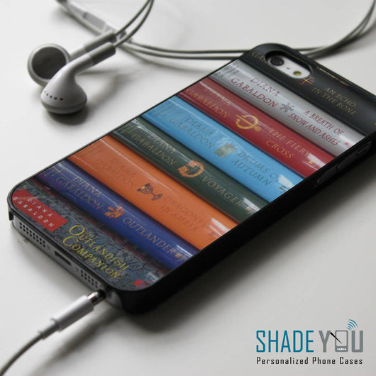 The Outlander Starz Books Series - iPhone 4/4S, iPhone 5/5S/5C, iPhone 6 Case, Samsung Galaxy S4/S5 Cases