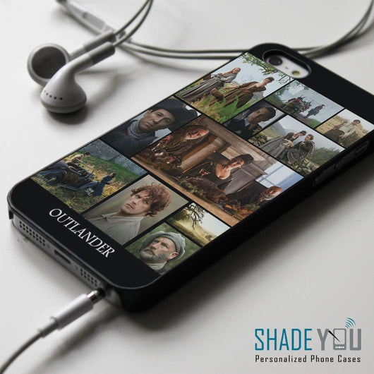 Outlander Starz Collage Series - iPhone 4/4S, iPhone 5/5S/5C, iPhone 6 Case, Samsung Galaxy S4/S5 Cases