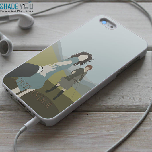 Outlander Starz Series - iPhone 4/4S, iPhone 5/5S/5C, iPhone 6 Case, Samsung Galaxy S4/S5 Cases