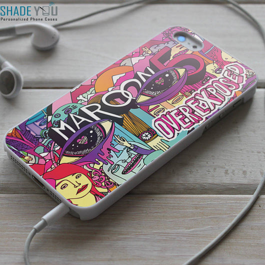 Maroon 5 Overexposed iPhone 4/4S, iPhone 5/5S/5C, iPhone 6 Case, Samsung Galaxy S4/S5 Cases
