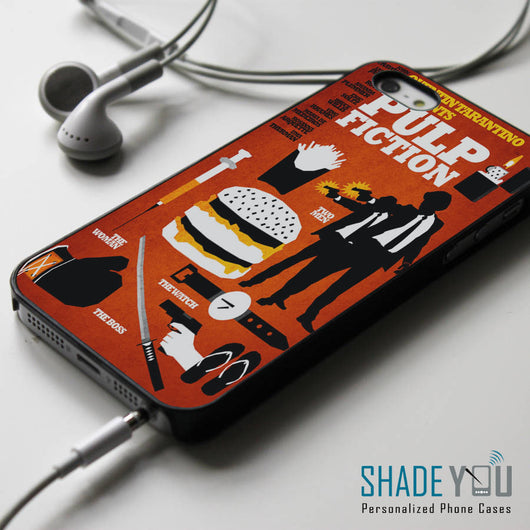 Pulp Fiction Collage iPhone 4/4S, iPhone 5/5S/5C, iPhone 6 Case, Samsung Galaxy S4/S5 Cases