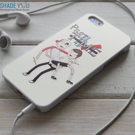 Twenty One Pilots Adventure Time iPhone 4/4S, iPhone 5/5S/5C, iPhone 6 Case, Samsung Galaxy S4/S5 Cases
