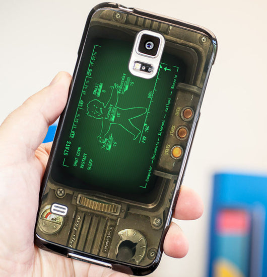 Pipboy 3000 Phone Cover - Plastic / Rubber Samsung Galaxy S3 S4 S5 and Note 3 Cases