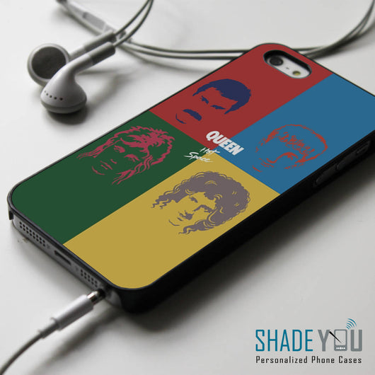 QUEEN iPhone 4/4S, iPhone 5/5S/5C, iPhone 6 Case, Samsung Galaxy S4/S5 Cases