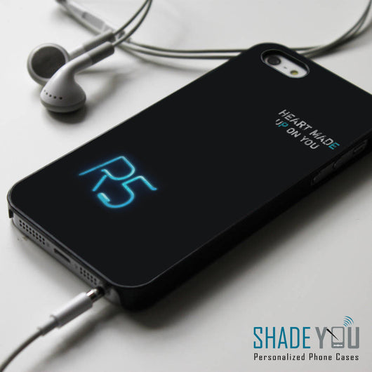 R5 Heart Made Up On You - iPhone 4/4S, iPhone 5/5S/5C, iPhone 6 Case, Samsung Galaxy S4/S5 Cases