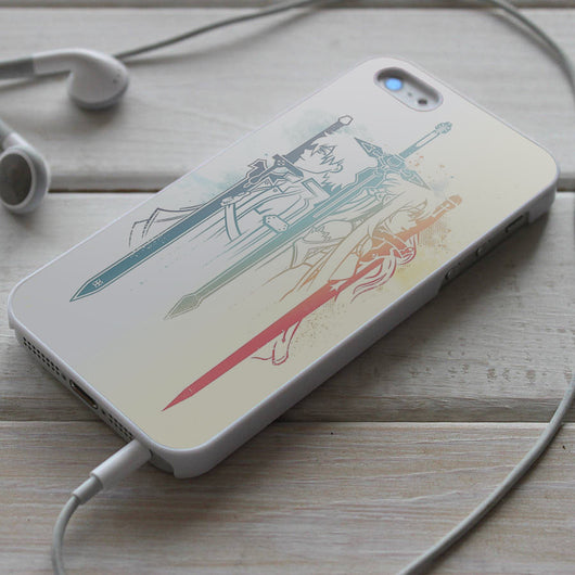 Sword Art Online - SAO iPhone 4/4S, iPhone 5/5S/5C, iPhone 6 Case, Samsung Galaxy S4/S5 Cases
