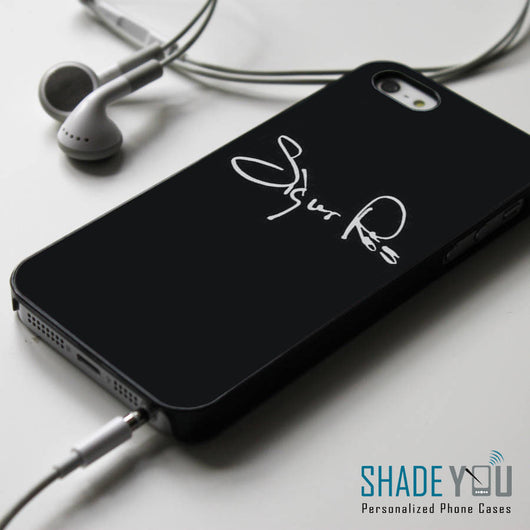Sigur Ros Signature iPhone 4/4S, iPhone 5/5S/5C, iPhone 6 Case, Samsung Galaxy S4/S5 Cases
