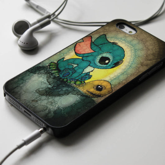 Stitch Stained Glass - iPhone 4/4S, iPhone 5/5S/5C, iPhone 6 Case, Samsung Galaxy S4/S5 Cases