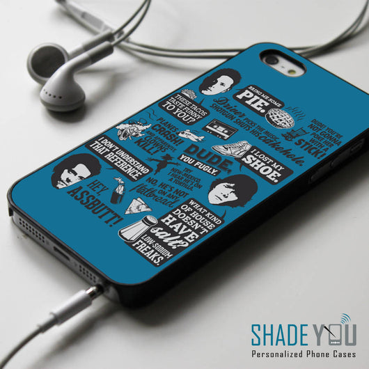Supernatural Collage Quotes iPhone 4/4S, iPhone 5/5S, iPhone 5C Case, Samsung Galaxy S4/S5 Cases