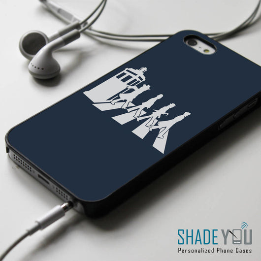 Doctor Who Tardis Abbey Road iPhone 4/4S, iPhone 5/5S, iPhone 5C Case, Samsung Galaxy S4/S5 Cases