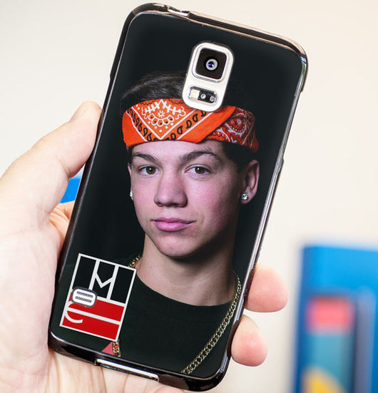 Taylor Caniff Magcon Boys - Plastic / Rubber Samsung Galaxy S3 S4 S5 and Note 3 Cases