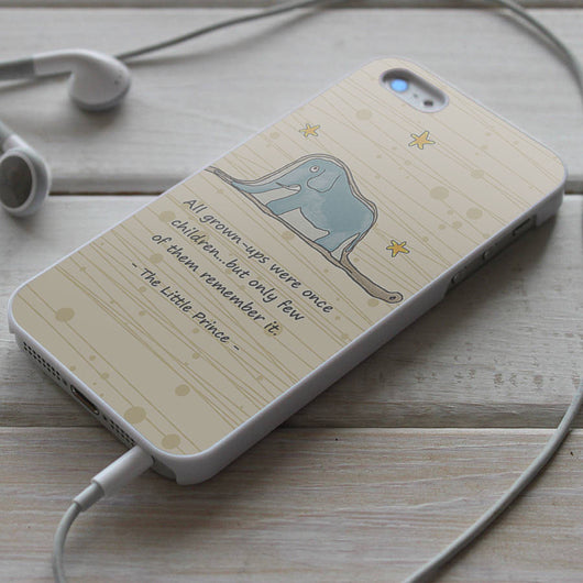 The Little Prince Quotes - iPhone 4/4S, iPhone 5/5S/5C, iPhone 6 Case, Samsung Galaxy S4/S5 Cases