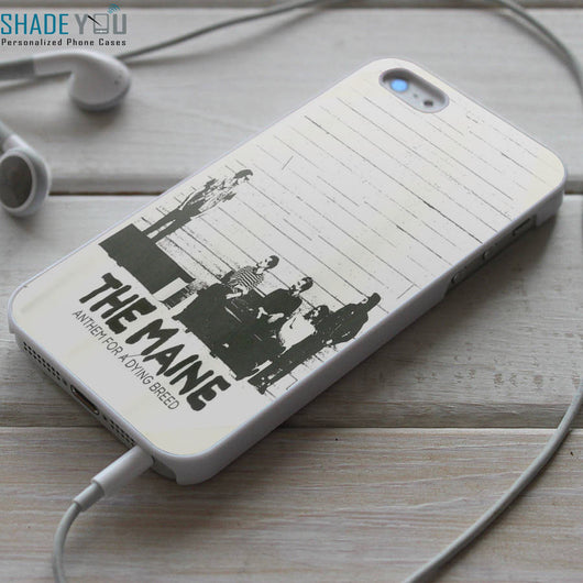 The Maine iPhone 4/4S, iPhone 5/5S/5C, iPhone 6 Case, Samsung Galaxy S4/S5 Cases