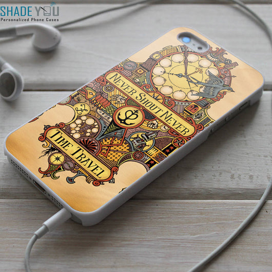 Never Shout Never Time Travel iPhone 4/4S, iPhone 5/5S/5C, iPhone 6 Case, Samsung Galaxy S4/S5 Cases