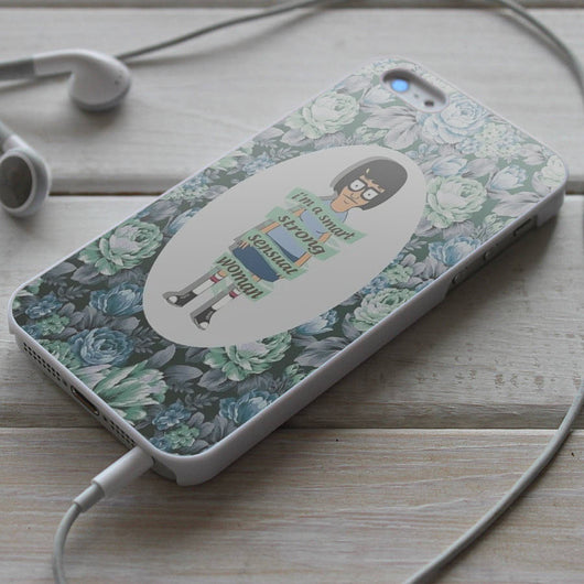 Tina Belcher Bob's Burgers quotes - Flower iPhone 4/4S, iPhone 5/5S/5C, iPhone 6 Case, Samsung Galaxy S4/S5 Cases