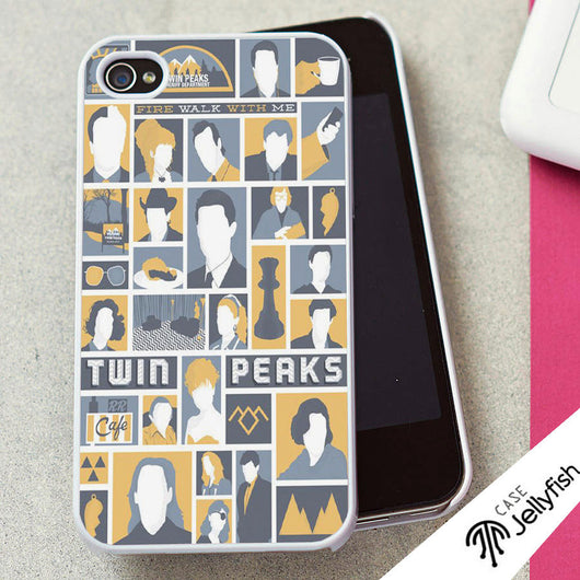 Welcome to Twin Peaks Collage - iPhone 4/4S, iPhone 5/5S/5C, iPhone 6 Case, Samsung Galaxy S4/S5 Case