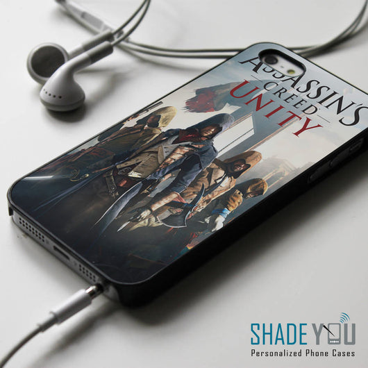 Assassin's Creed Unity iPhone 4/4S, iPhone 5/5S/5C, iPhone 6 Case, Samsung Galaxy S4/S5 Cases