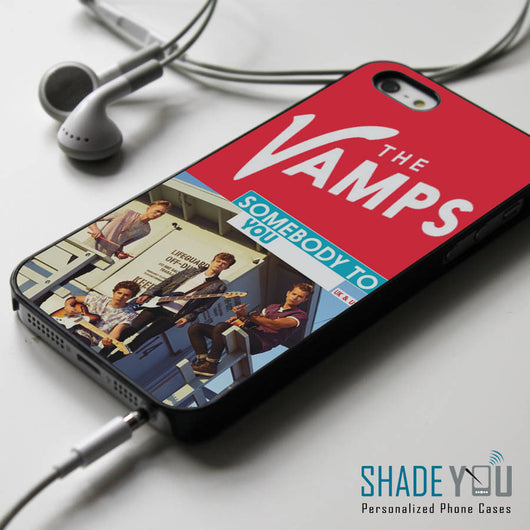 The Vamps Somebody to You iPhone 4/4S, iPhone 5/5S/5C, iPhone 6 Case, Samsung Galaxy S4/S5 Cases