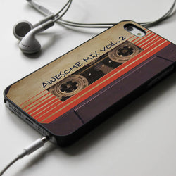 Guardians of The Galaxy Awesome Mix Vol 2 Tape Recorder - iPhone 4/4S, iPhone 5/5S/5C, iPhone 1 Case, Samsung Galaxy S3/S4 Case