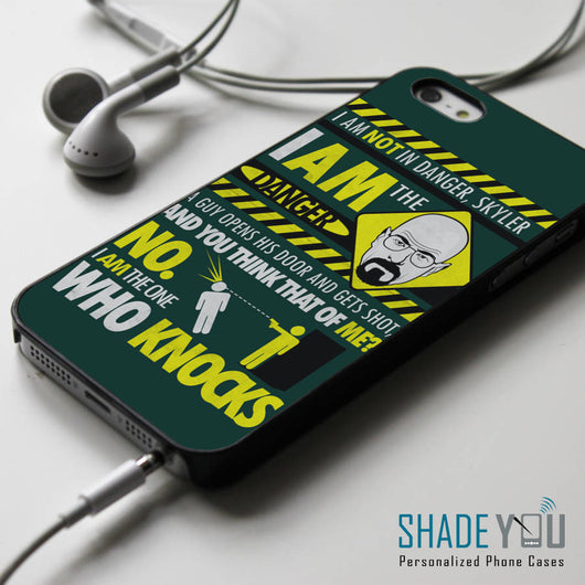 Breaking Bad Walter White Quotes iPhone 4/4S, iPhone 5/5S, iPhone 5C Case, Samsung Galaxy S4/S5 Cases