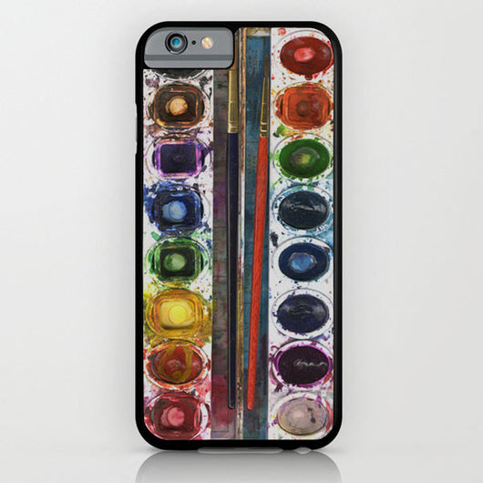 Watercolor Box iPhone 6 Case