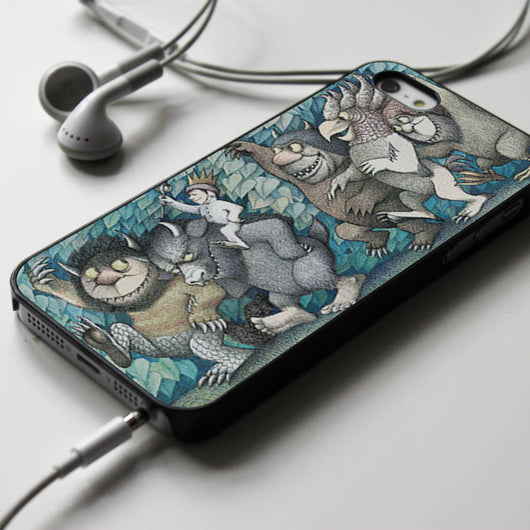 Where the Wild Things Are - iPhone 4/4S, iPhone 5/5S/5C, iPhone 6 Case, Samsung Galaxy S4/S5 Cases