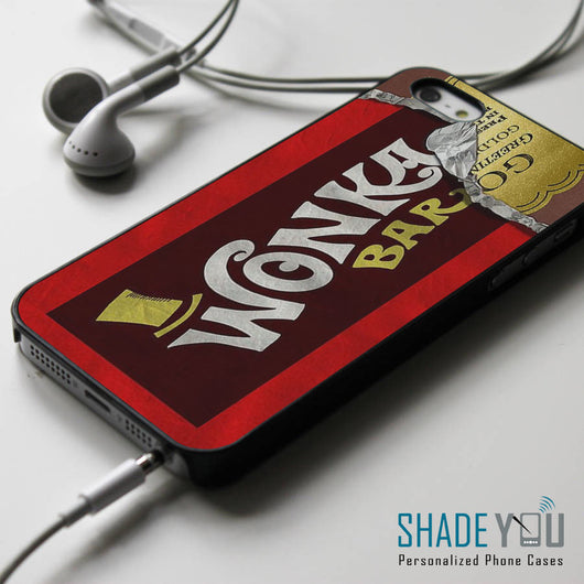 Wonka Bar Golden Tickets iPhone 4/4S, iPhone 5/5S, iPhone 5C Case, Samsung Galaxy S4/S5 Cases