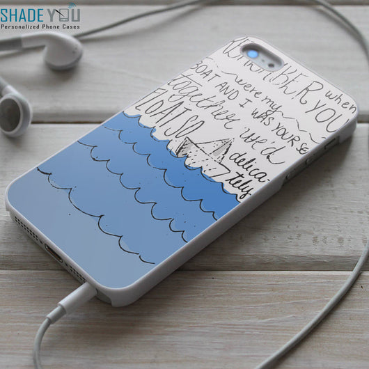 You Me at Six Fireworks Lyrics - iPhone 4/4S, iPhone 5/5S/5C, iPhone 6 Case, Samsung Galaxy S4/S5 Cases