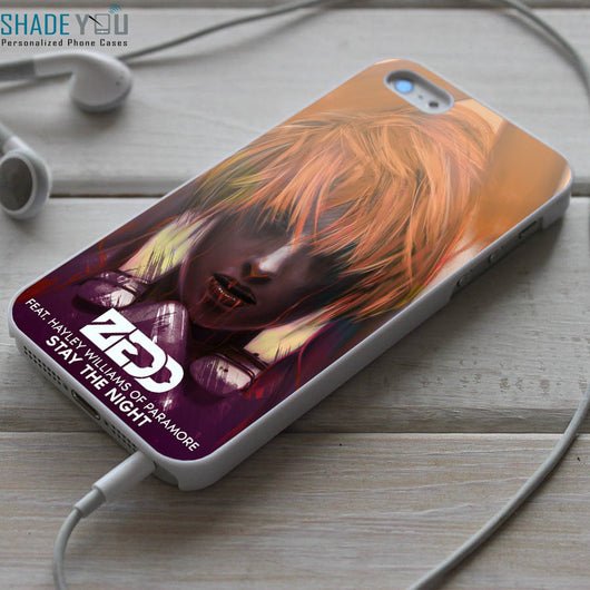 Zedd Hayley Williams Stay The Night iPhone 4/4S, iPhone 5/5S/5C, iPhone 6 Case, Samsung Galaxy S4/S5 Cases
