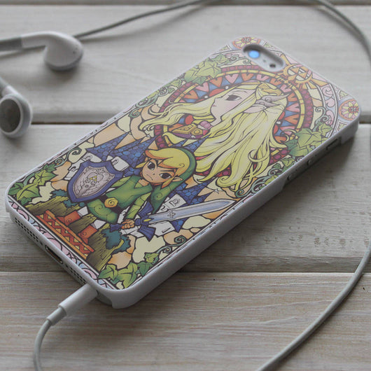 Legend of Zelda - Stained Glass iPhone 4/4S, iPhone 5/5S/5C, iPhone 6 Case, Samsung Galaxy S4/S5 Cases
