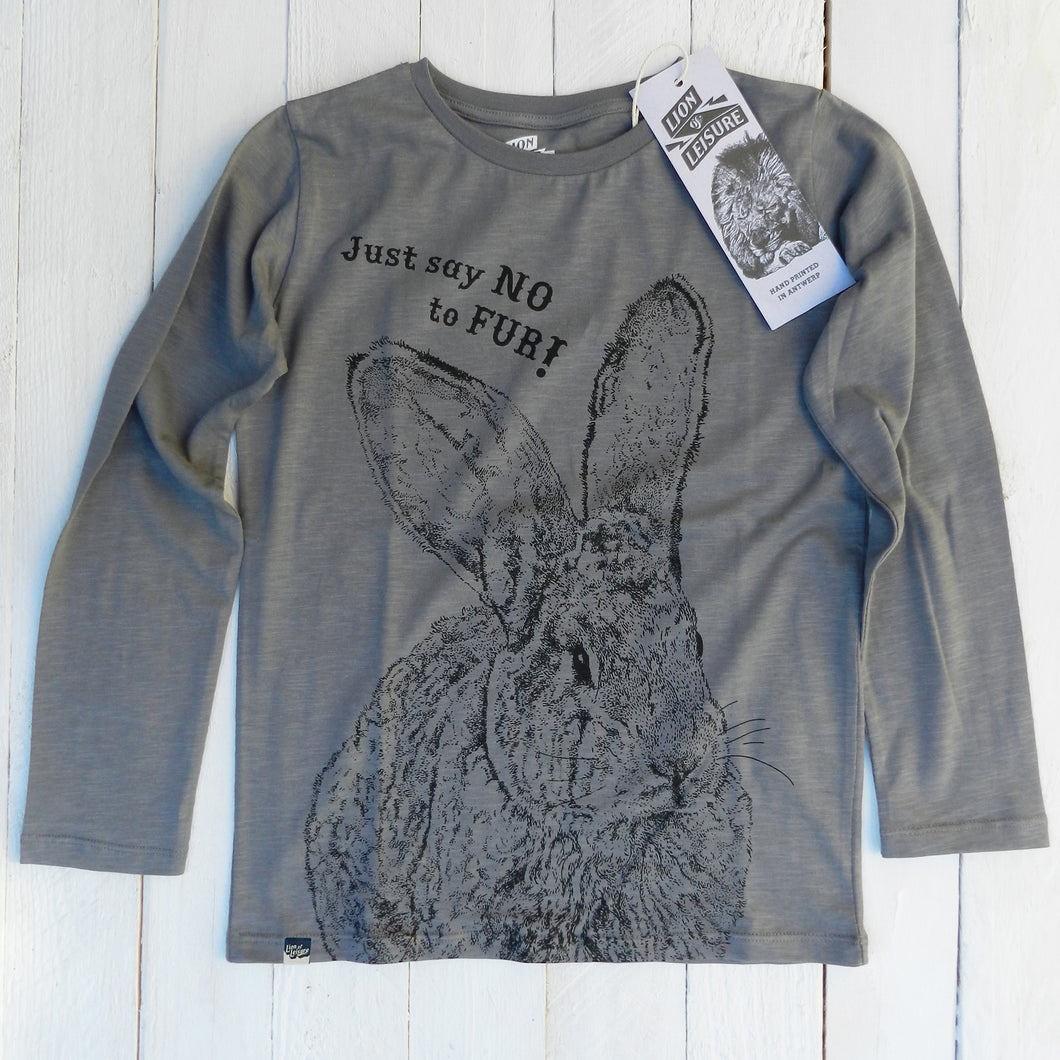 BUNNY - Just say NO to fur !