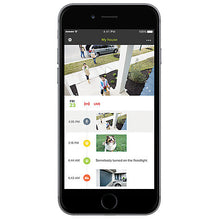 Netatmo Presence Outdoor Security Camera - Smartphone View