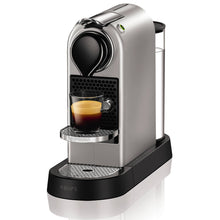 Nespresso CitiZ Coffee Machine by KRUPS, Silver XN740B40