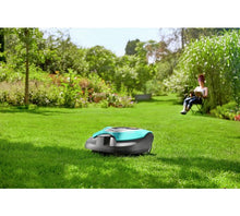 Gardena SILENO Smart Robotic Lawnmower - On The Lawn
