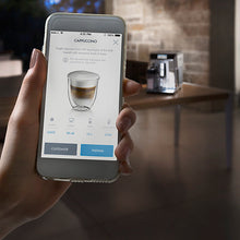 De'Longhi Bean-to-Cup Coffee Machine (PrimaDonna Elite Experience) - Smartphone View