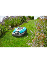 Gardena SILENO Smart Robotic Lawnmower In The Garden