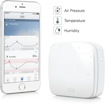 Elgato Eve Weather Wireless Outdoor Sensor With Smartphone