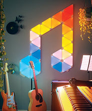 Nanoleaf Aurora Rhythm Smarter Kit - On The Wall