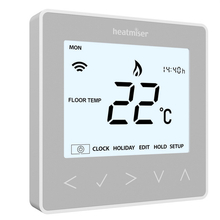 Heatmiser NeoKit 1 Gen 2 Platinum Silver HomeKit-Enabled - (Heating Only)