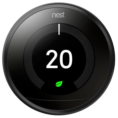 Nest Learning Thermostat, 3rd Generation, Black