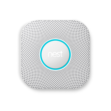Nest Protect Wired Smoke & Carbon Monoxide Alarm - 2nd Generation