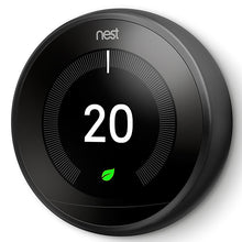 Nest Learning Thermostat 3rd Generation - Black Side View
