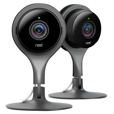 Nest Cam Indoor Security Camera - Pack of 2